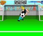 Johnny Bravo in bravo goalie focis j�t�kok